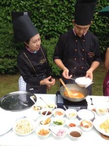 Making a Panang Curry