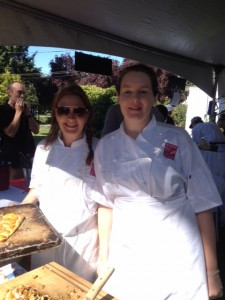 Chef/Head Baker Mary Mackay (left) and her chef of Terra Breads