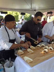 Chefs of the Fairmont Vancouver Airport with their signature Beef Shortribs