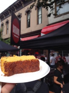Best Corn Bread from The  Railtown Cafe