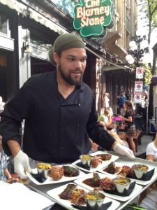 Chef Cullin David of Calabash Bistro