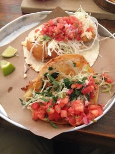 Tacos: Fish & Squash