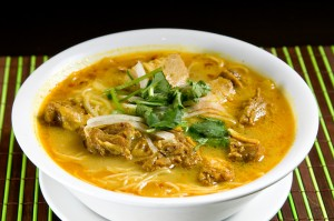 Chicken Curry Noodle Soup