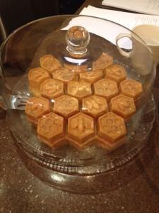 Honeybee Honey Cake