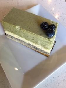 Matcha Black Sesame Slice