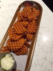 Yam Waffle Fries