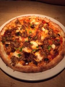 Korean Bbq Pork Pizza
