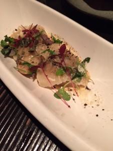 Matsutake Ravioli