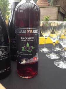 Mann Farms Blackberry wine