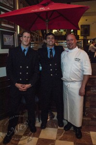 Vancouver Firefighters and Executive Chef Wayne Sych