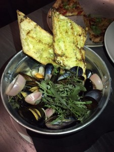 Mussels and House Ale