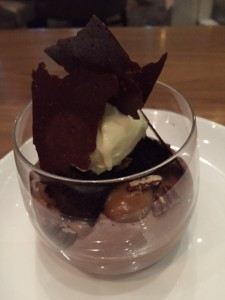 German Chocolate Mousse Cake