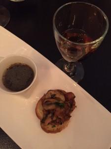 Chanterelles on toast with Wild Mushrooms