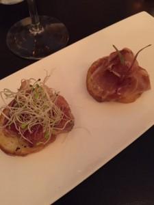 Iberian cured Ham on Toast