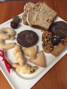 Selection of Holiday treats