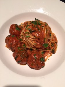 Spaghetti & Frankie's Meatballs