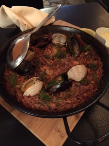 Seafood Paella Fideua