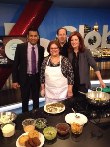 On Global BC Weekend Morning News with hosts Lynn Colliar and Shanel Pratap, Richard Wolak and Chef Parviz Dhanani