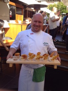 Executive Chef Wayne Sych at Joe Fortes Seafood & Chop House.