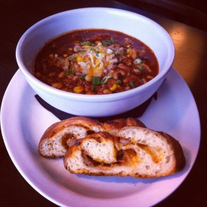Spicy Beer Brined Turkey Chili