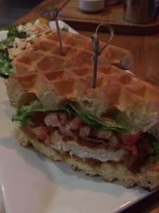 Chicken & Waffles Sandwich