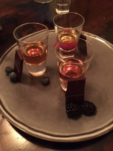 Chocolate & Whiskey Flight