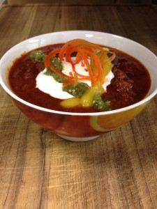 The Meatery's Oaxacan Chilli