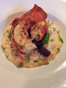 Tarragon poached Lobster