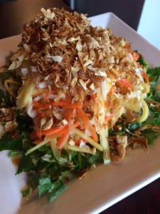 Sweet and Sour Green Mango Salad