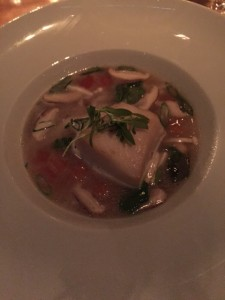 Dungeness Crab and Roasted Sablefish