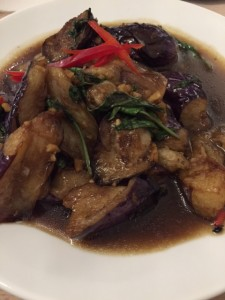 Stir-Fried and Spicy Eggplant