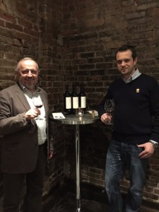 Stina winery principals Ivica Kovacevic (Winery Director) on Left and Ivan Kovacevic (Export Manager) on Right.