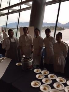Chefs team of Zest Japanese Restaurant