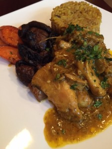 Moroccan-style Chicken Fricassee
