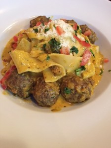 Meatball Pappardelle