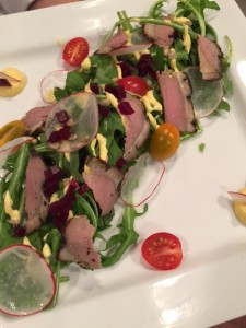 Indian Smoked Duck Salad
