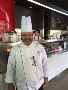 Executive Chef, Piyush Sahay, (runs the Residence, Commissary and Retail Operations)