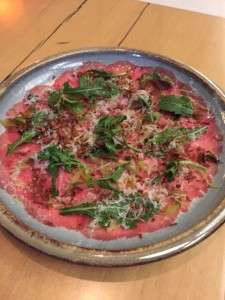 Beef Carpaccio Salad