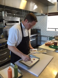 Chef Ryan Reed at Nomad