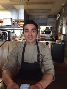 Chef Enrique Menendez at Patron