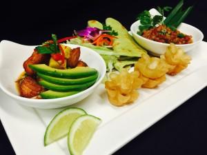 Thai Taco Platter