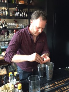 Tarquin makes the Powell Street Sour