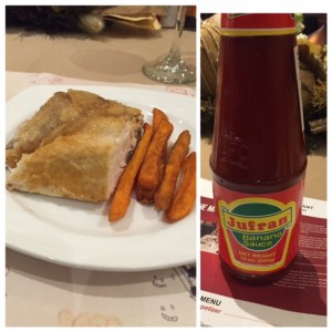 Maxs Chicken with the famous #philipine Banana Ketchup