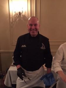 Chef Joel Green of The Lobby Restaurant & Lounge