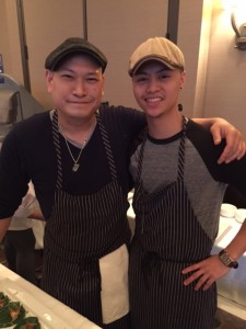 Chef Nick Liu of DaiLo (left)