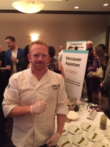 Chef Tim Bedford of the Vancouver Aquariam