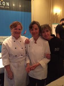 Chef Michele Genest of TIA Yukon (middle)