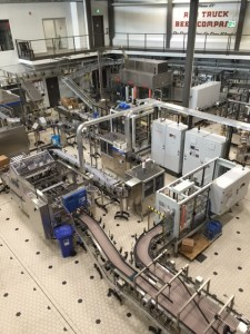 Automated bottling line