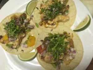 Chicken Alambre Tacos