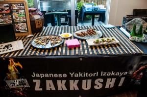 Skewers from Zakkushi